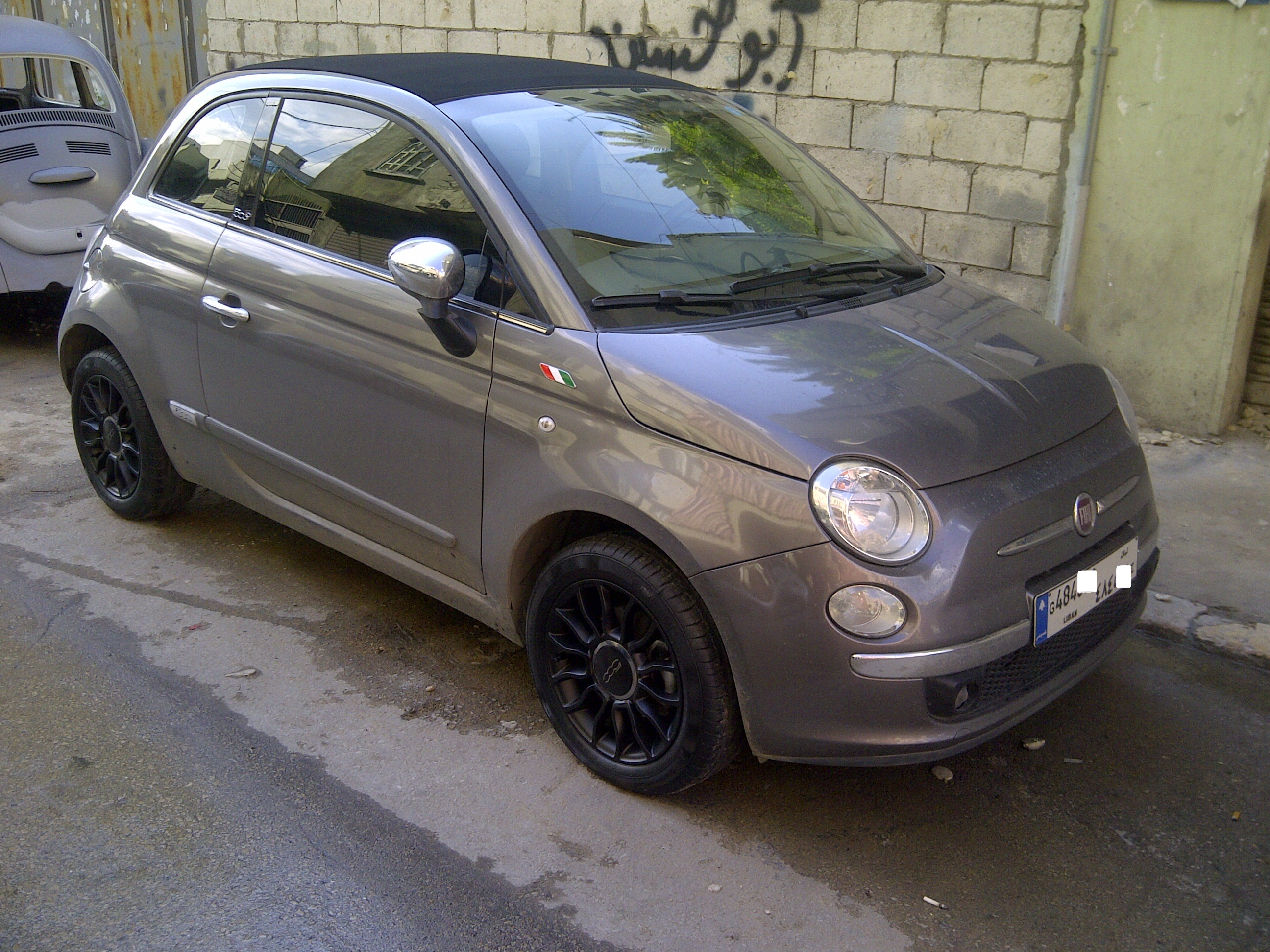 Fiat 500 Black Rims Theadsgarage