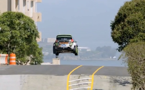 Ken Block Gymkhana 5: The Ultimate Playground, San Francisco.