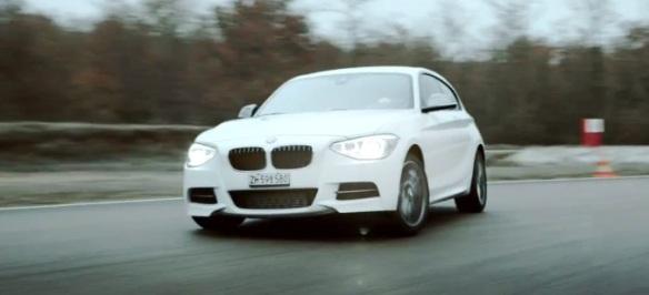 BMW 135 christmas