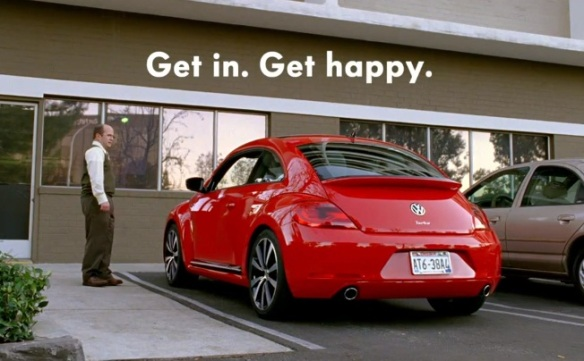 Beetle happy