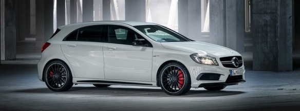 Mercedes Commercial: The A45 AMG