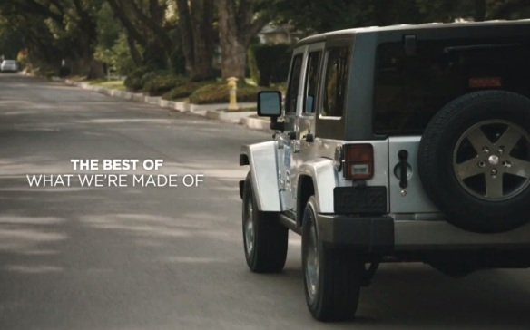 Jeep Superbowl Commercial: Whole Again