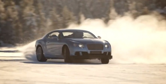 Bentley Commercial: A W12 Drifting on Ice