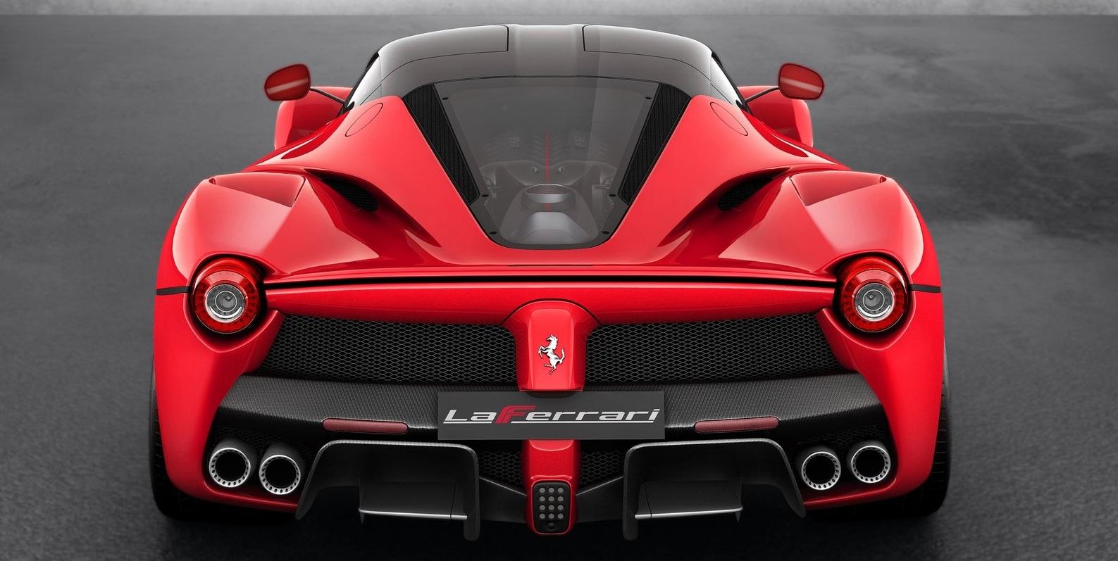 ferrari laferrari_2014_back - Ferrari 2014 Enzo