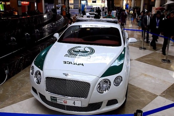bentley police-cars-dubai