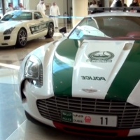 Aston Martin One-77 Joins The Dubai Police Patrol Cars
