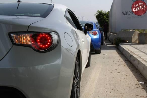 GT86-BRZ rear view