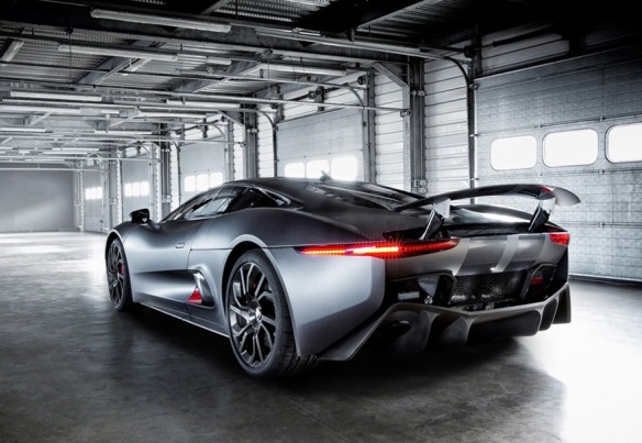Jaguar C-X75 Back