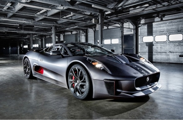 Jaguar C-X75 Front