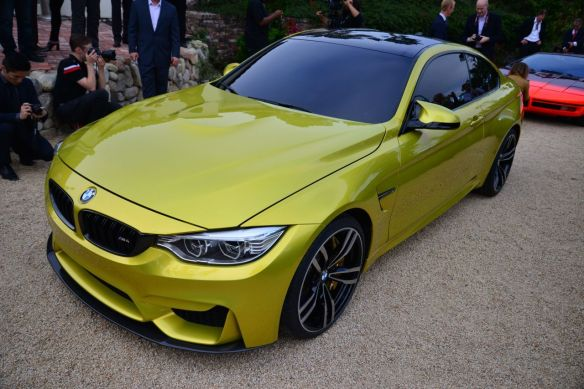 BMW Conce M4 coupe front