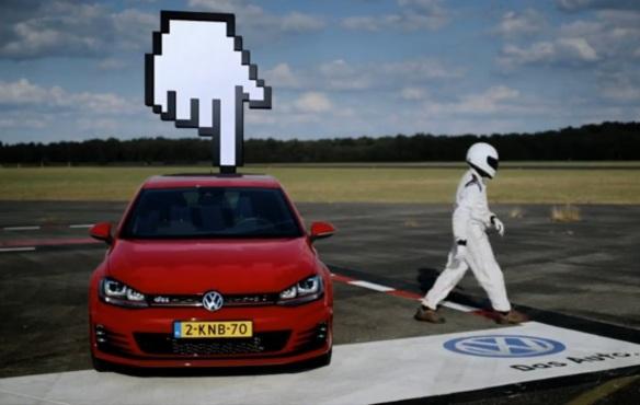 VW GTI MK7 Banner Bahn