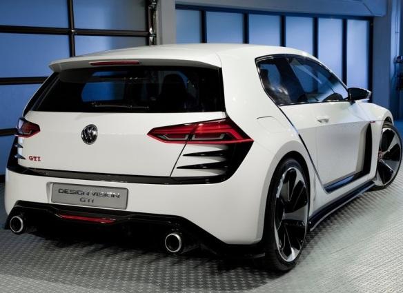 VW Design Vision GTI Concept 2013 Back