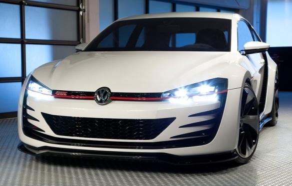VW Design Vision GTI Concept 2013 Front