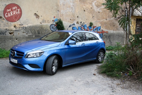 Mercedes A200 Front