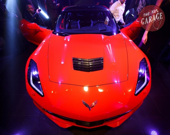 Corvette C7 Stingray Front