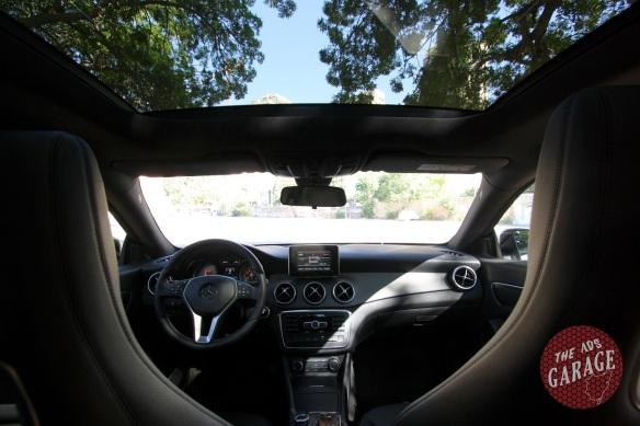 CLA200 interior