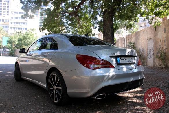 CLA200 rear