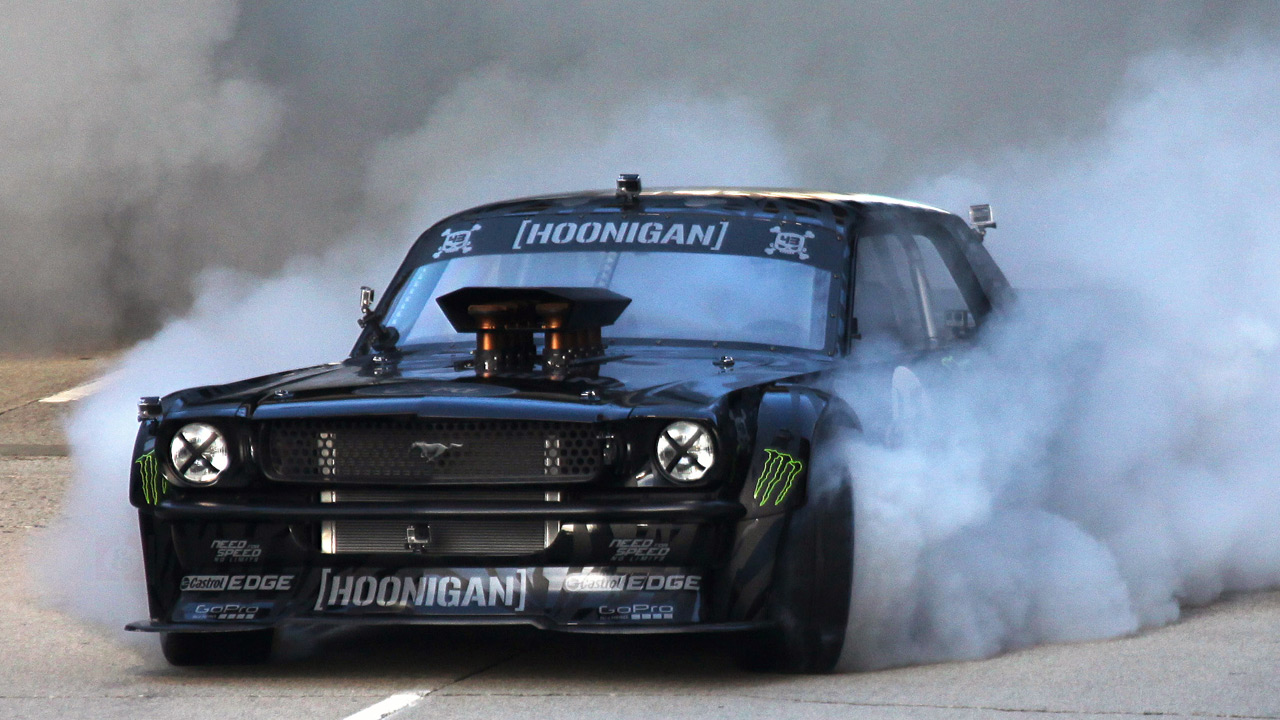 Mustang Ken Block Gymkhana 7 on 2014 mustang all wheel drive